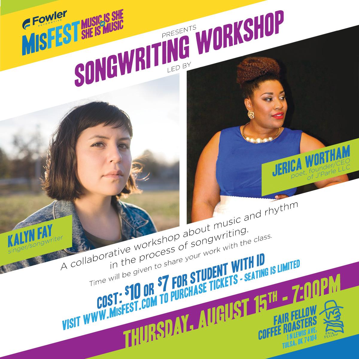 Songwriting Workshop - MisFEST 2019